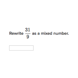 Improper Fractions To Mixed Numbers Calculator Converter