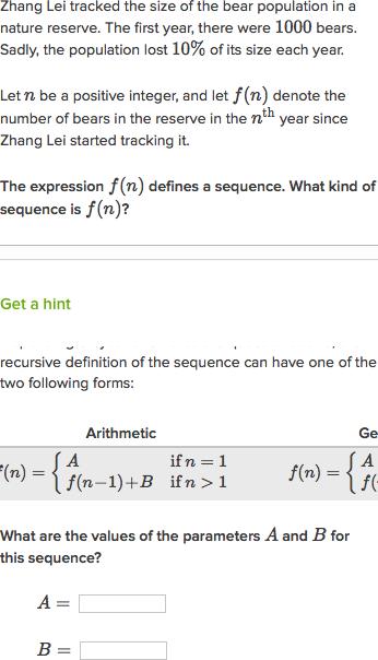 Free Worksheets arithmetic recursive and explicit worksheet : Recursive Formula For Pts Pictures